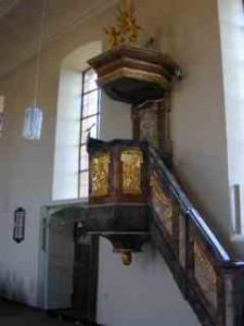 Kirche Allmannsweier: Kanzel
